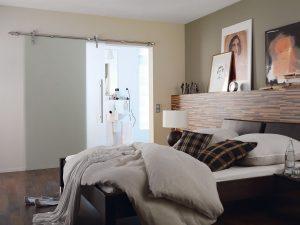 Schuifdeur In Slaapkamer : Glazen schuifdeur slaapkamer u2013 salvini design & glas maatwerk